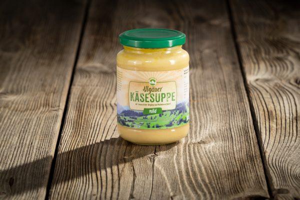 Allgäuer Käsesuppe mild
